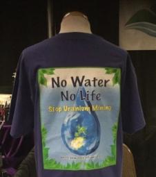 No Water No Life T-Shirt