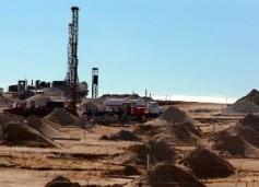 Drilling New ISL Site. Casper Star Tribune