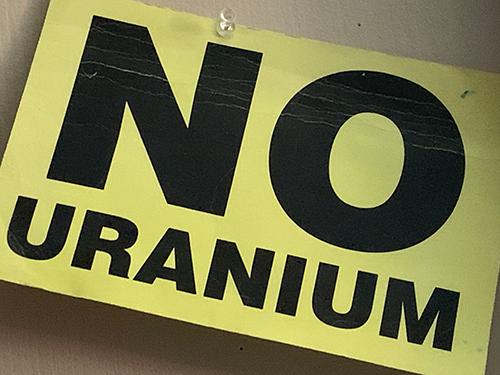 No Uranium